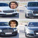 آشنایی با خودروهای گران قیمت فوتبالیست ها