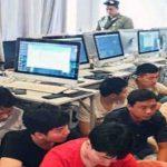 کامبوج اعضای یک شبکه قمار غیرقانونی را دستگیر کرد