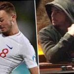 جیمز مدیسون بازیکن انگلیس با فریب تیم، در شب باخت به چک در حال بازی پوکر در یک کازینو دیده شد!
