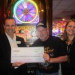مرد خوش اقبالی، 5 میلیون دلار از یک اسلات ماشین در لاس وگاس برنده شد