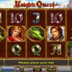 معرفی و اموزش بازی اسلات ماشین Knights Quest آنلاین
