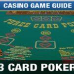 آموزش و قوانین بازی پوکر سه کارته
