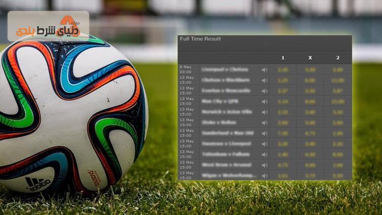 از ضرایب سایت فوتبالی و کارآمدی بازار چه میدانید؟