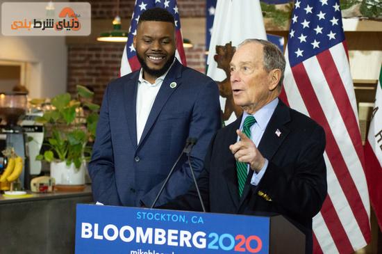 مایکل بلومبرگ کاندیدای انتخابات 2020 آمریکا