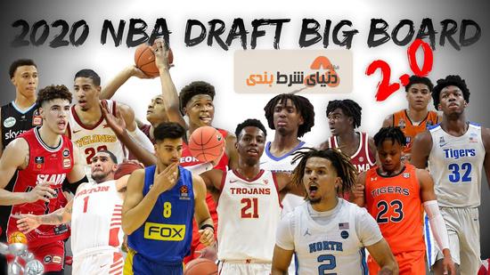 بازیکنان در درفت 2020 NBA