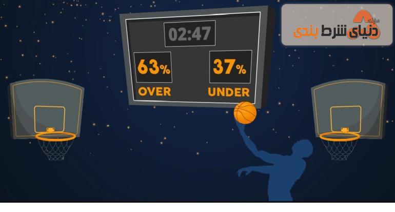 آموزش شرط بندی مجموع در بسکتبال؛ ترس از باخت یا جسارت برای پیروزی؟
