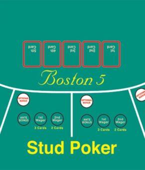 معرفی بازی کازینویی بوستون پنج