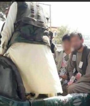 (ویدئو) طالبان قماربازان را در شهر چرخاند